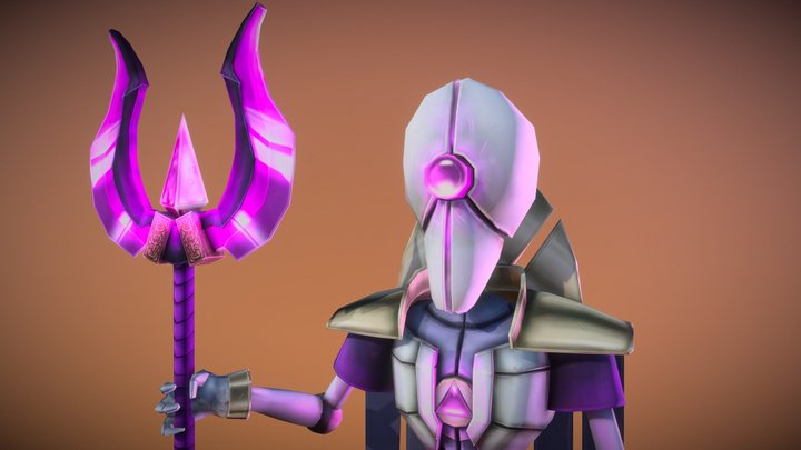 High Priest 3D Model