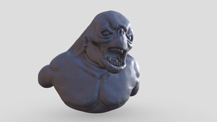 Cave Troll-Sculpt 3D Model