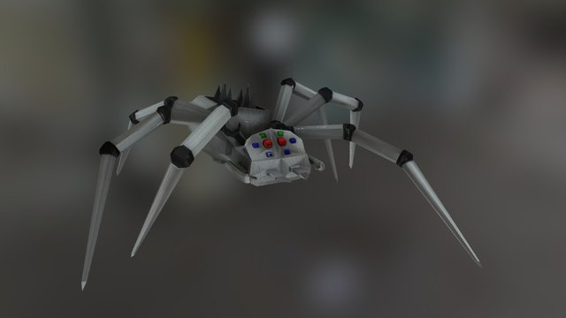 Macanical Spider 3D Model