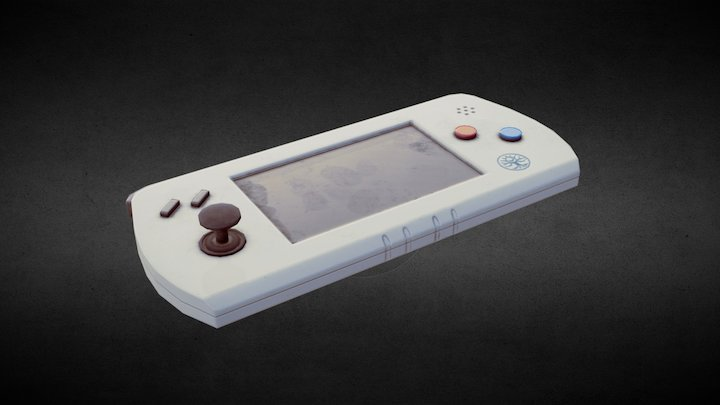 Simple Gaming Device 3D Model