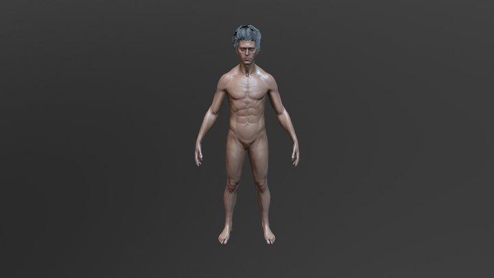 Male Basemesh 3D Model