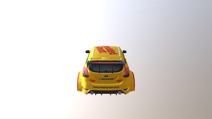 Touring Car Body 3D Model