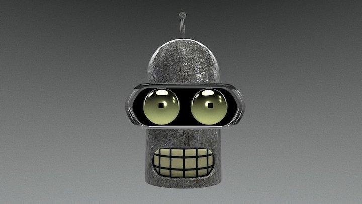 Bender 3D Model