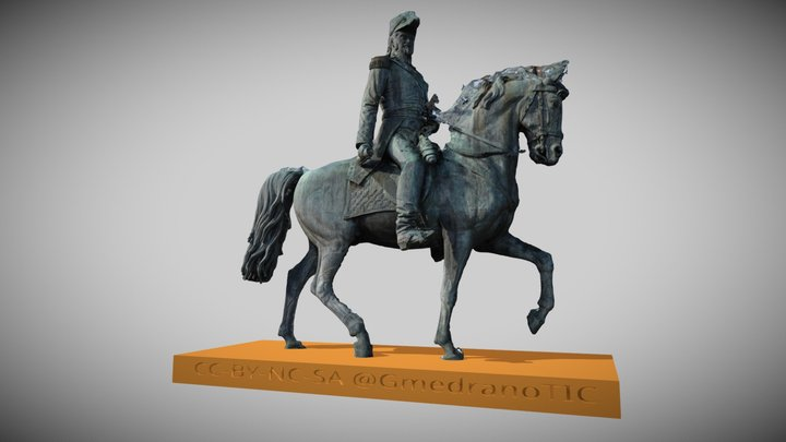 Escultura del General Espartero (Logroño) 3D Model