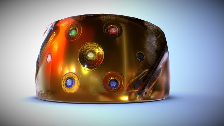 Infinity Toy ring 3D Model