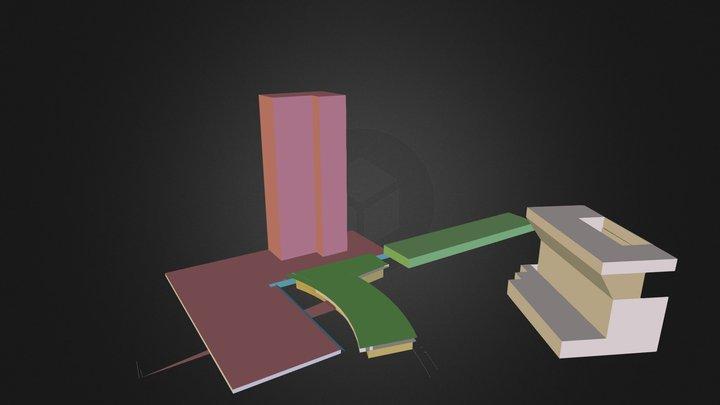 Jarod Pavilions 3D Model