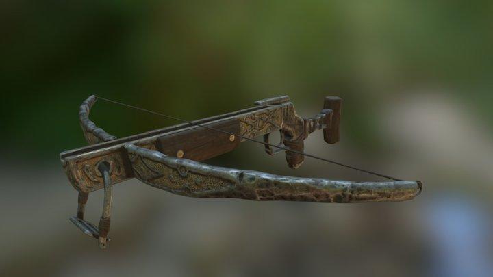 Ancient Artifact Crossbow 3D Model