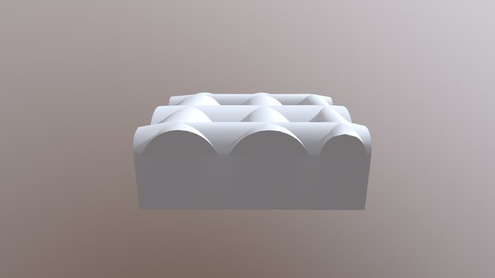 Raum 14 Speisegewölbe 3D Model