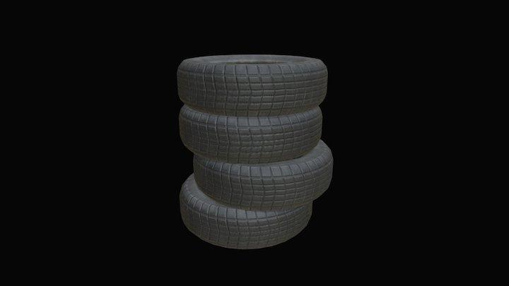 Tyre Group 3D Model