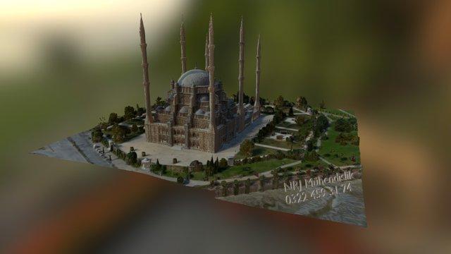 Adana Central Mosque Model 3D Model