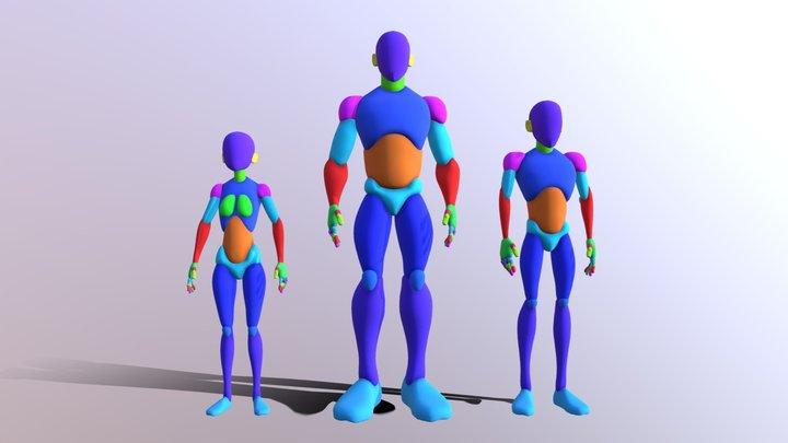 2284_HUIJNEN_Nicolas_Proportions 3D Model