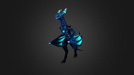 Dragon_Anim_Walk 3D Model