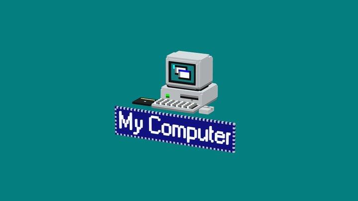 """""""My Computer"""" 3D Model"""