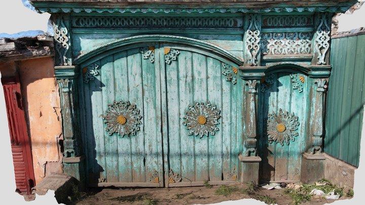 Старые ворота в Улан-Удэ 3D Model
