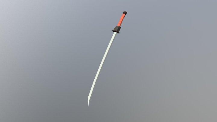Sword 03 3D Model