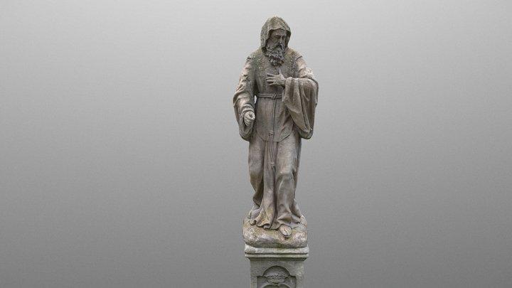 St. Francis statue 3D Model