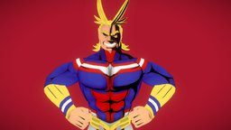 All Might: The number one hero! 3D Model