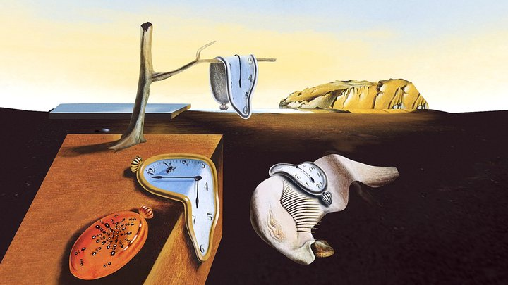 Dali,The Persistence of Memory 3D Model