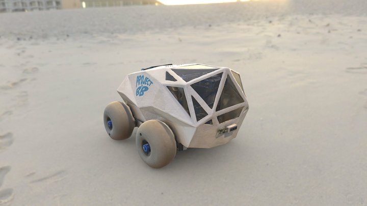Beach rover - Robohouse 3D Model