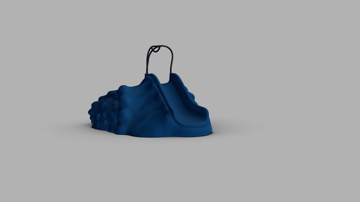 Small Mound Sketch Fab 3D Model