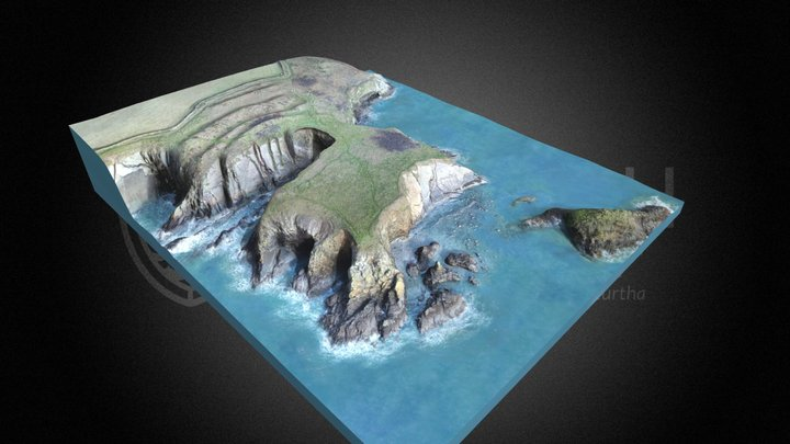 Caer Bentir Caerfai Camp – Ionawr 2019 3D Model