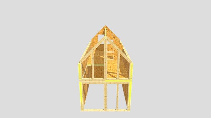 WZ - indywidualny - bez dachu 2021.09.23 3D Model