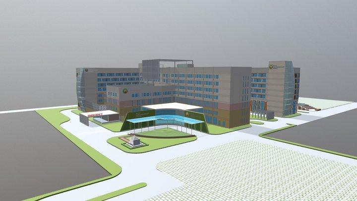 NAYATI HEALTHCARE 3D Model