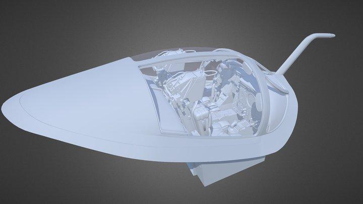 A6E cockpit 3D Model