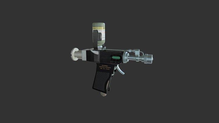 Injector Gun 3D Model