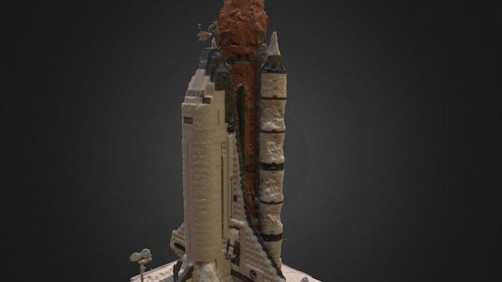 Lego Spaceship 1 3D Model