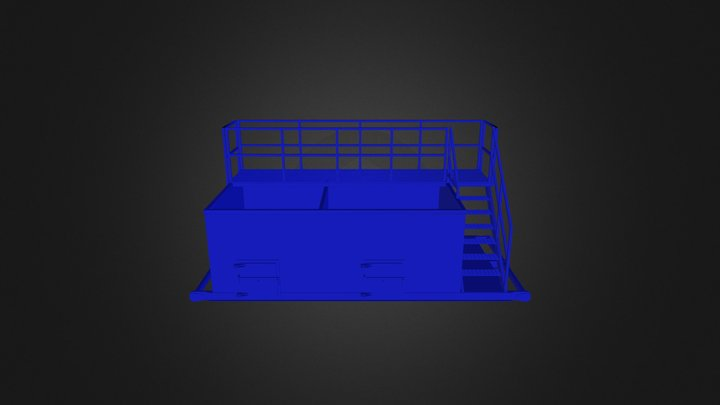 Tanque 60 Bbls 3D Model