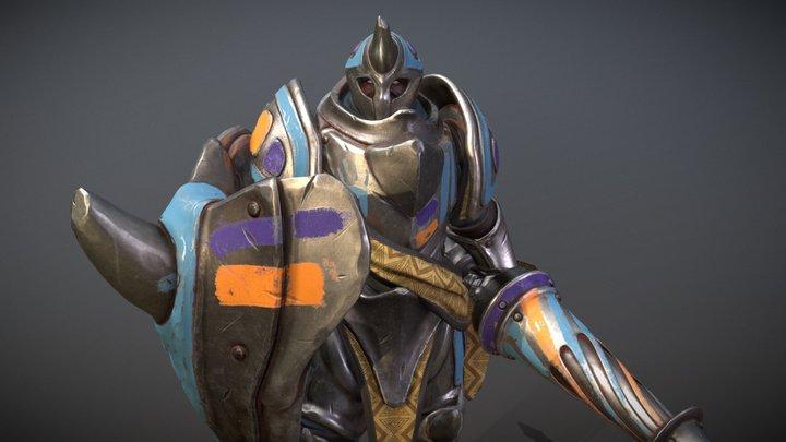 Rhinoceros Guardian 3D Model
