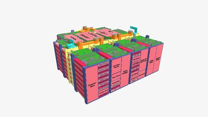Battery Pack FT19e 3D Model