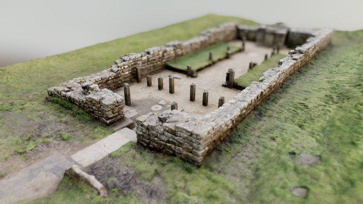 Brocolithia temple v3 #WallScanChallenge 3D Model
