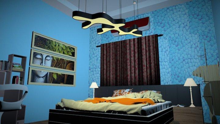 K.A.S Model Bed room 3D Model