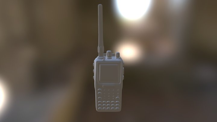 Walkie Talkie 3D Model