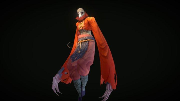 red mummy 3D Model