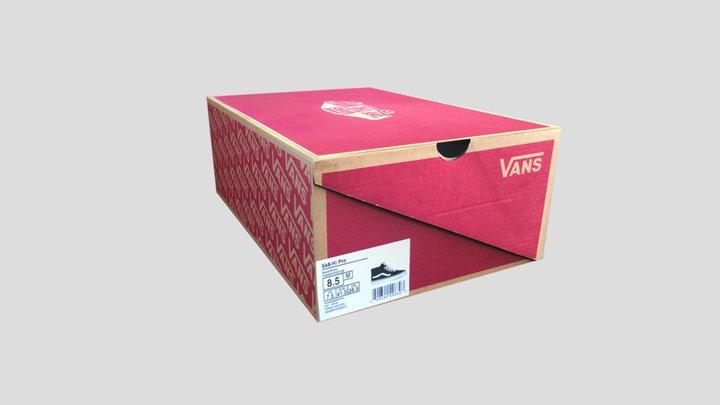 Vans Shoe Box 3D Model