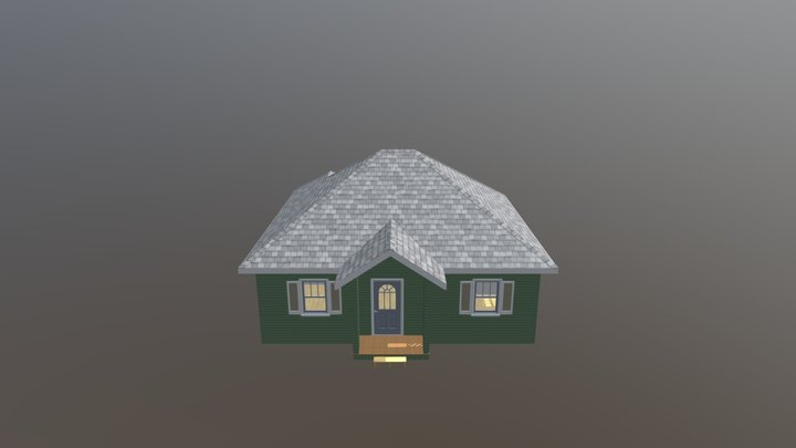 Bungalow The Cass 3D Model