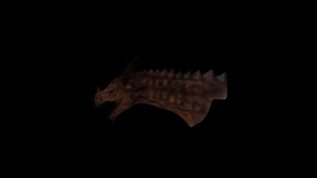 Dragon Head WIP 3D Model