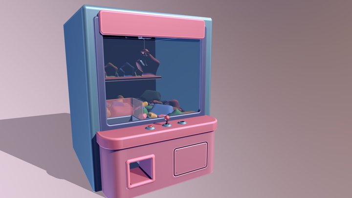 baked clawmachine 3D Model