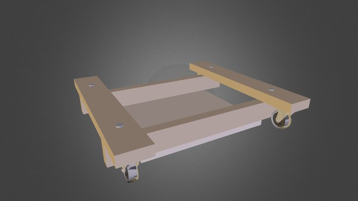 Grizzly Jointer Base 3D Model