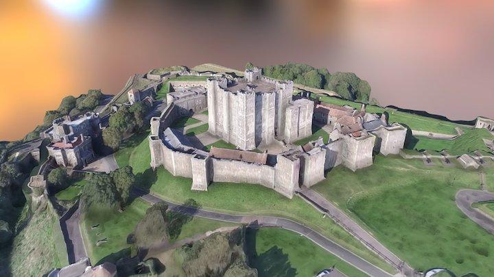 Dover castle 3D Model