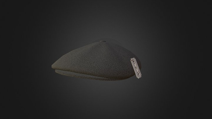 Peaky Blinders Hat WIP 3D Model