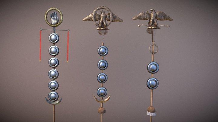 Roman Eagle 3D Model