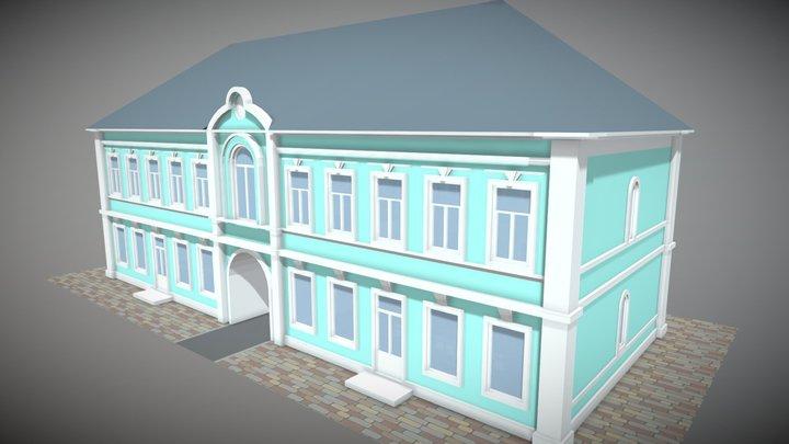 Trader House 3D Model