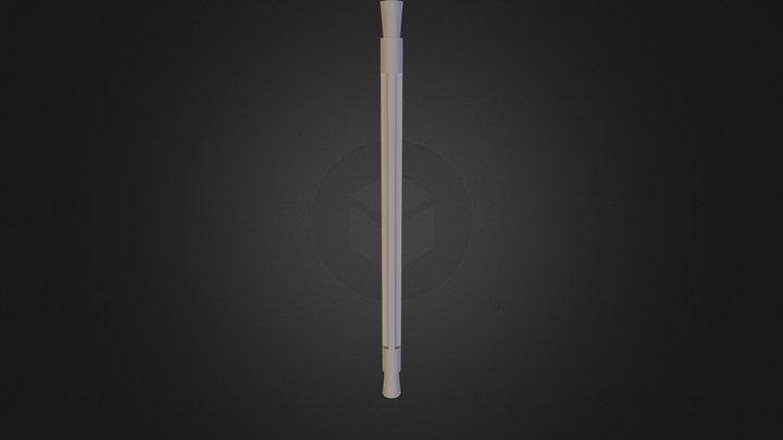 Construction Toy Rod 3D Model