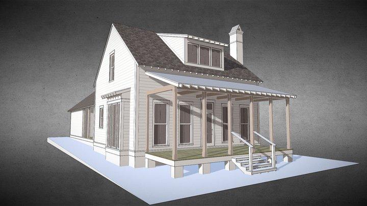 Vieux Chalet 3D Model