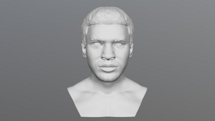 Muhammad Ali bust for 3D printing 3D Model
