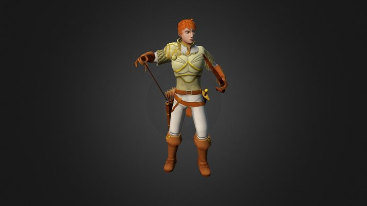 Alexander Sol 3D Model